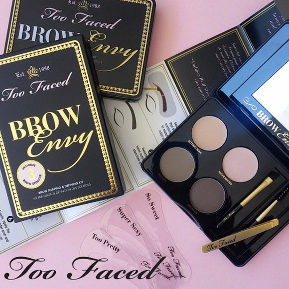 Too Faced Makeup New Brow Envy Shaping Defining Kit Poshmark
